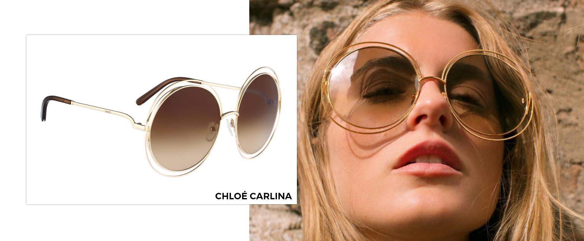 e69d4c075c6 Chloé Carlina CE114S 784 6218 Sunglasses €309.42 €243.98 · Chloé Carlina  Squared CE119S 786 6018 ...