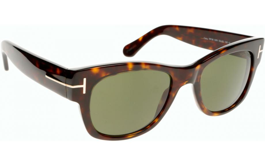 18eaa620a8 Tom Ford Cary FT0058 52N 52 Lunettes de soleil - Livraison gratuite | Shade  Station