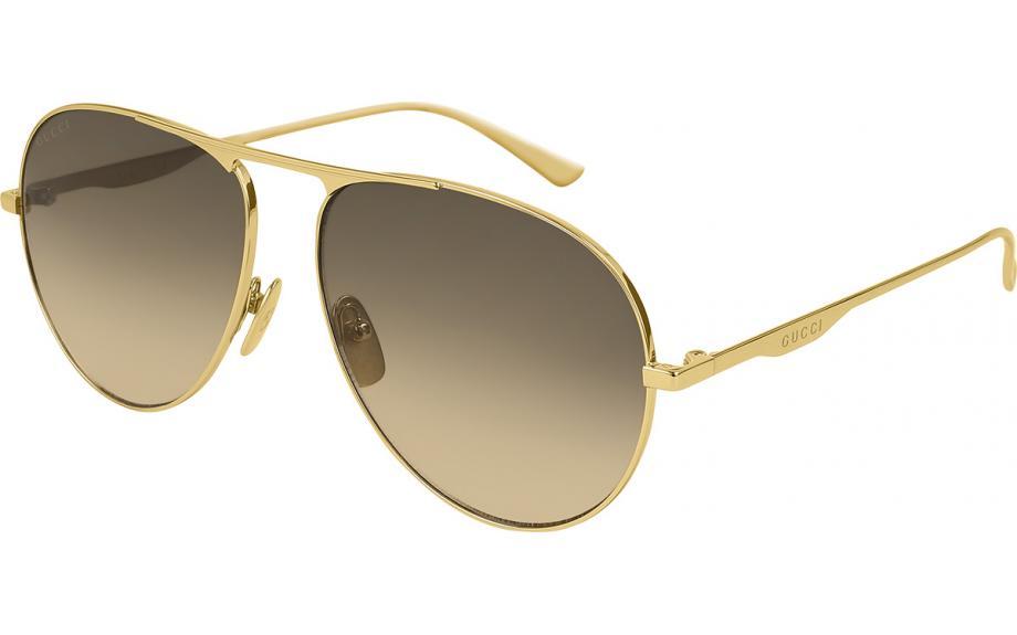 1ac7d091bf8 Gucci GG0334S 001 60 Lunettes de soleil - Livraison gratuite